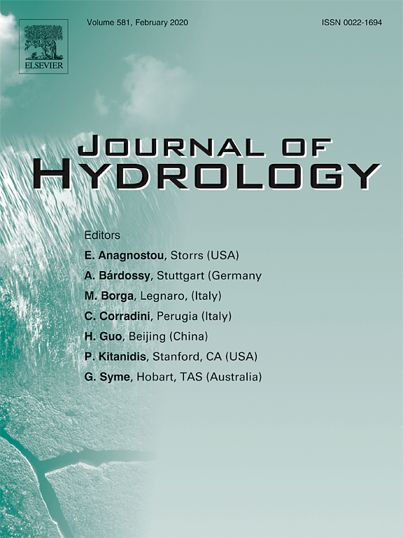 Journal of Hydrology cover